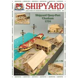 ML:094 Shipyard Quay - Port - Chatham 1754