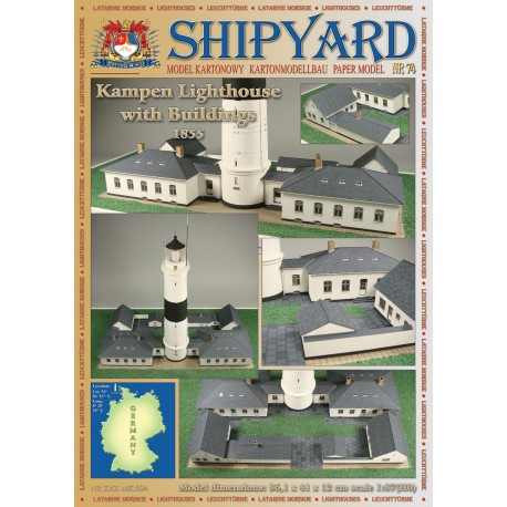Kampen Lighthouse with Buildings Nr 74