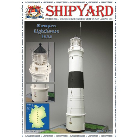 ML:111 Kampen Lighthouse 1:72