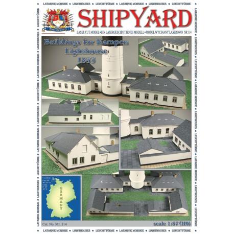 ML:114 Buildings for lighthouse Kampen 1:87(H0)
