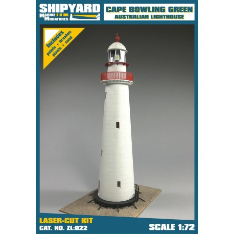 ZL:022 Cape Bowling Green Lighthouse