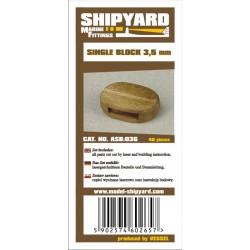 ASB:036 Single Blocks 3,5 mm