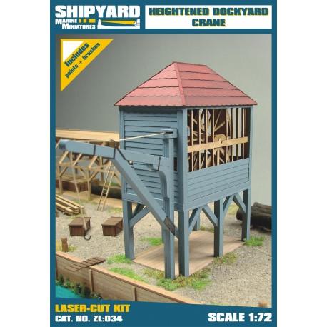 ZL:034 Heightened Dockyard Crane