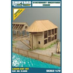 ZL:035 Stationary Dockyard Crane