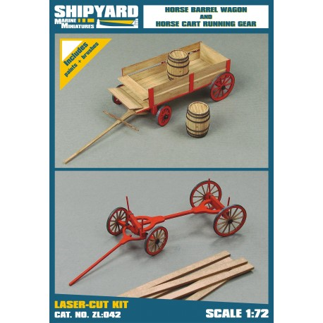 ZL:042 Horse Barrel Wagon and Cart Running Gear
