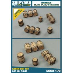 ZL:045 Barrels 28, 36 ,54 ,72, 184 Gallons
