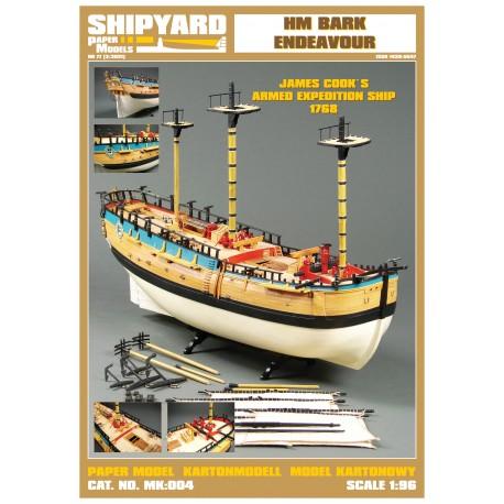 MK:004 HM Bark Endeavour Nr 33