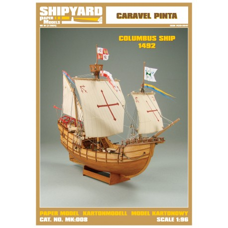 MK:008 Caravela Pinta 1492 No. 37