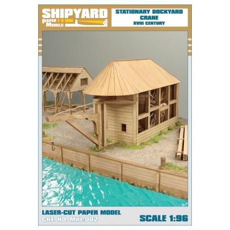 ML:045 Stationary Dockyard Crane 1:96