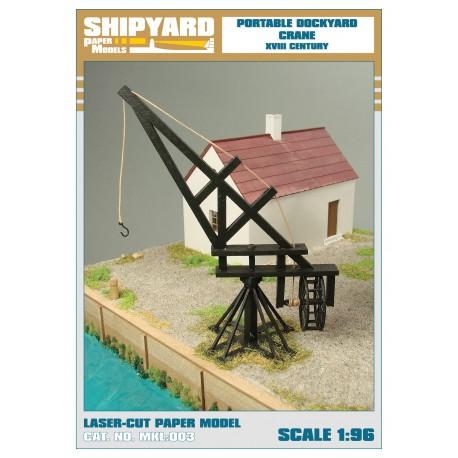 ML:047 Portable Dockyard Crane 1:96