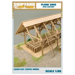 ML:055 Plank Shed 1:96