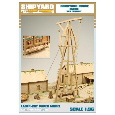 ML:102 Dockyard Crane - Sweden XVII Century 1:96