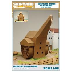 ML:104 Dockyard Crane - The Netherlands XVII Century 1:96