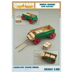 ML:070 Horse Wagon 1:96