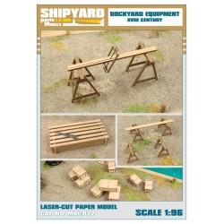 ML:059 Dockyard Equipment 1:96
