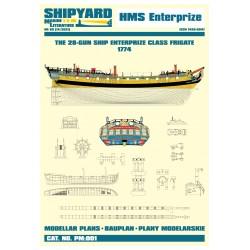 PM:001 HMS Enterprize 1774