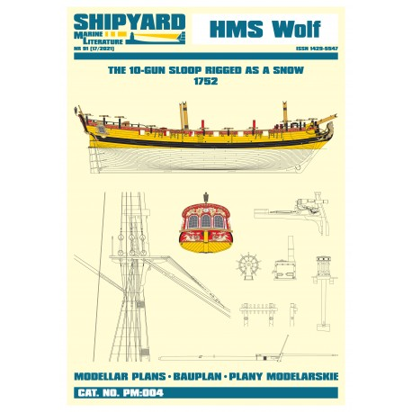PM:004 HMS Wolf 1752