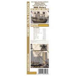 AS:024 Blöckchen, Jungfern und Herz Satze HMS Victory