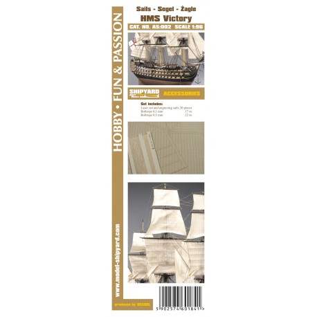 AS:002 Sails HMS Victory