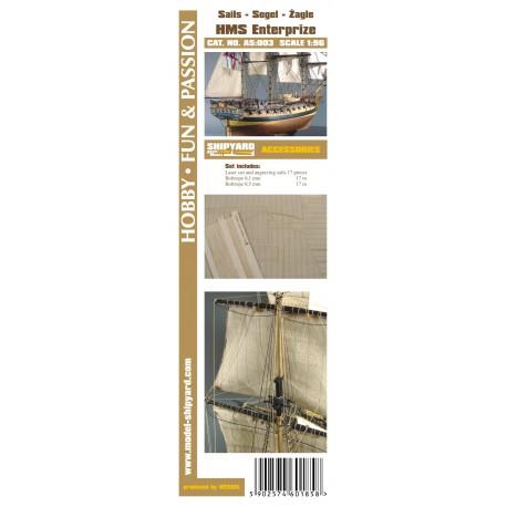 AS:003 Sails HMS Enterprize