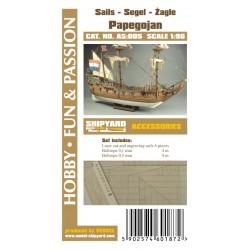 AS:005 Segel für Papegojan