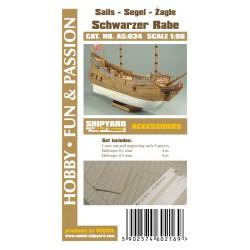 AS:034 Sails Fluit Schwarzer Rabe