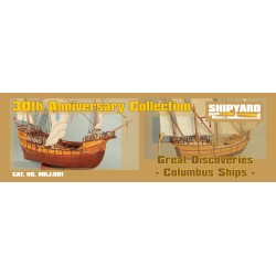 MKJ:001 Great Discoveries Columbus Ships